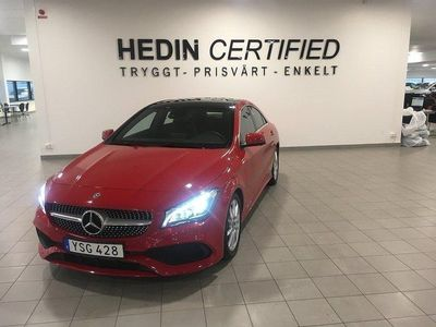 begagnad Mercedes CLA200 CLA d AMG 4MATIC 7G-DCT, 136hk, 2018