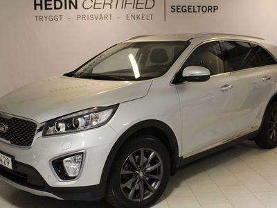 begagnad Kia Sorento 2.2 CRDI 200HK AUTO AWD BUSINESS 7-SITS S+V-HJUL