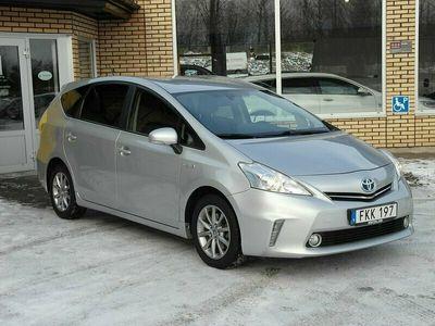 begagnad Toyota Prius+ Hybrid 1.8 VVT-i + 3JM CVT 7-sits (136hk)