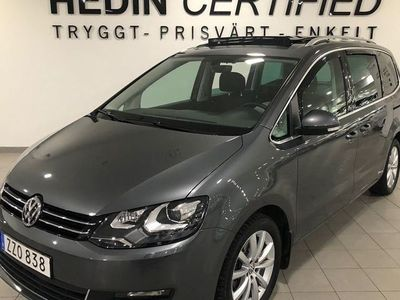 begagnad VW Sharan 7 Sits, Comfort, Premium