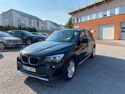 begagnad BMW X1 xDrive20d 177hk Drag Skinn Nyservad