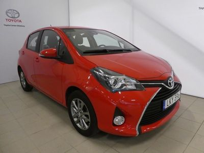 begagnad Toyota Yaris 5-dörrar 1.33 Dual VVT-i Euro 6 99hk, ACTIVE