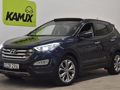 begagnad Hyundai Santa Fe 2.2 CRDi 4WD 7-sits Skinn Panorama Drag (200hk)