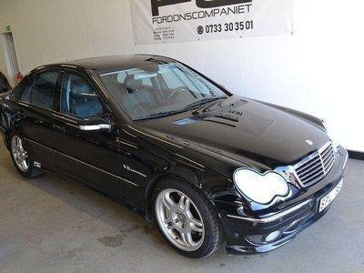 begagnad Mercedes C32 AMG AMG Automat 354hk TOPPSKIC