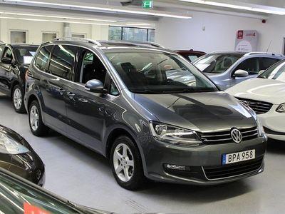 begagnad VW Sharan 2.0 BlueTDI 7-sits / Drag / Hel-skinn / Nav