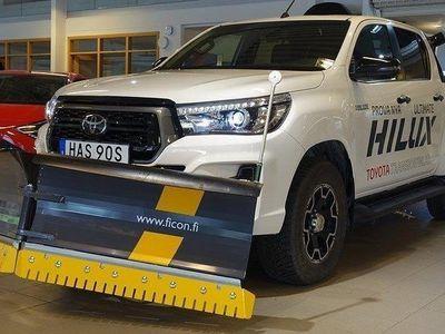 begagnad Toyota HiLux 2,4 D-CAB ULTIMATE TURBO FULLUT