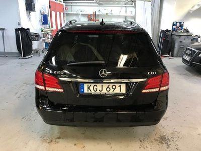 begagnad Mercedes E220 CDI Kombi -14