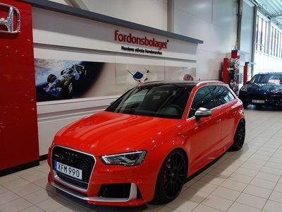 begagnad Audi RS3 Sportback SB 2.5TFSI Stertman 455HK Svensksåld