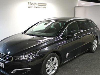 begagnad Peugeot 508 ALLURE BlueHDi 120 Aut Green Business *1.95% ränta!*
