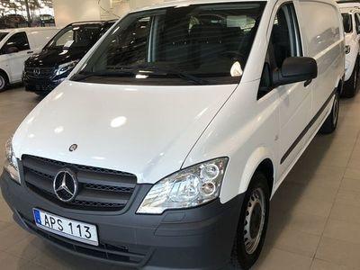 begagnad Mercedes Vito 113 CDI SKÅP EXTRA LÅNG