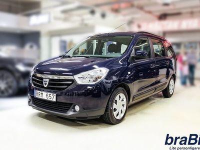 begagnad Dacia Lodgy 1.5 dCi 110 Laureate 7-sits 2014, Personbil 82 300 kr