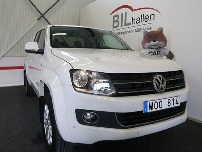 begagnad VW Amarok 2,0TDI 180HK AUT 4M HIGHLIN -14