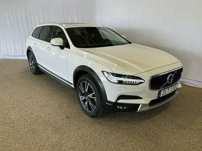begagnad Volvo V90 T5 II AWD Pro, Garanti 24 månader, On call, Dragkrok halvautomatisk, Panoramaglastak, Parkeringskamera bak, Navigation