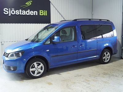usado VW Caddy Maxi Life 1.6 TDI Highline 7-sits Drag