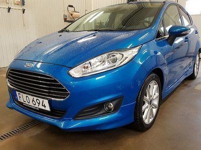 begagnad Ford Fiesta 1.0 EcoBoost Euro6 SPORT 2017, Halvkombi 95 000 kr