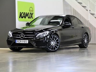 begagnad Mercedes C250 AMG Pano Night S&V-Hjul (211hk)