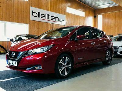 begagnad Nissan Leaf 40 kWh GPS 360° Kamera Bose 149hk