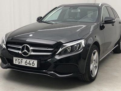 begagnad Mercedes C220 C-Klass4MATIC Kombi S205 (170hk)