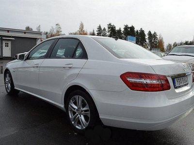 begagnad Mercedes E200 CDI BlueEFFICIENCY