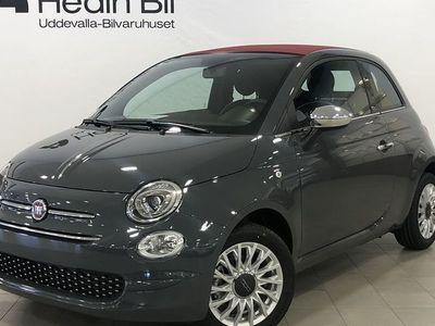 begagnad Fiat 500C 1.2l 69HK LOUNGE SERIE 7 MY20
