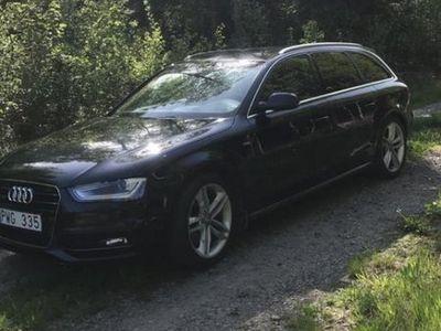 begagnad Audi A4 2.0 tdi s-line quattro säljes