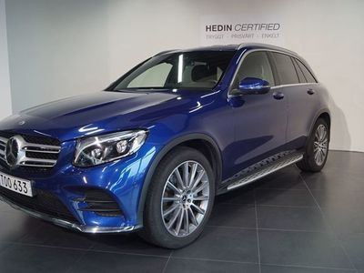 begagnad Mercedes GLC350 - Benzd 4MATIC Designo, AMG Sport, Exclusive Leather 258hk