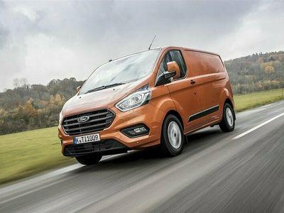 begagnad Ford 300 Transit Custom Skåp LimitedL1 2.0l 6mt. Stage 6.2 FWD 2020, Transportbil Pris 309 875 kr