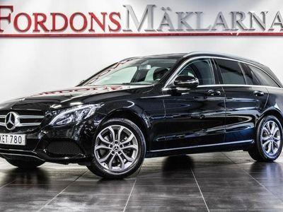 begagnad Mercedes C220 T d 4MATIC AUT NAVI DRAG FRI HEMLEVERANS