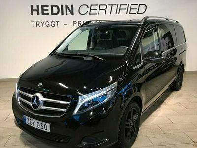 begagnad Mercedes V220 V Benz7g Tronic Plus Avantgarde Parkeringsp 2018, Minibuss Pris 389 900 kr