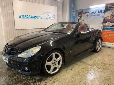 begagnad Mercedes SLK200 Kompressor AMG Välskött