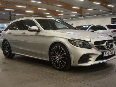 begagnad Mercedes C300 C BenzKombi AMG 360-Kamera Värmare Aut Drag Nav ILS 2019, Personbil 409 000 kr