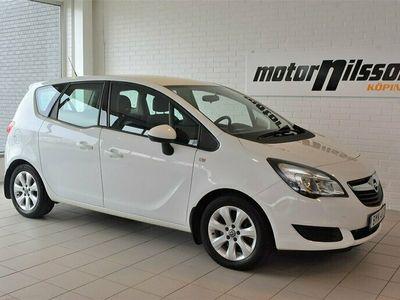 begagnad Opel Meriva 1.4 T 140hk Dragkrok 2 brukare
