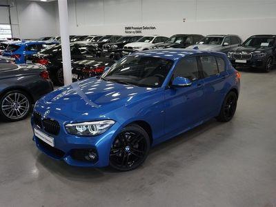 begagnad BMW 118 D xDrive M-Sport Shadow 150hk 18 Tum Tonade Rutor