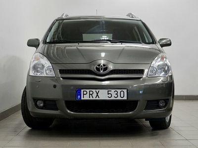 begagnad Toyota Corolla 1.8 VVT-i 7-sits M+K Nyservad V-Hjul