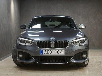 begagnad BMW 120 i 5-door Steptronic M Sport Navi Drag V-hjul