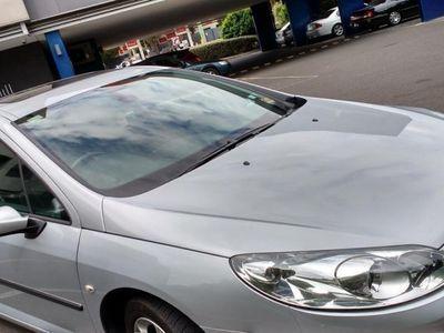 begagnad Peugeot 407 halvskinn OBS 13000 MIL NY BES -05
