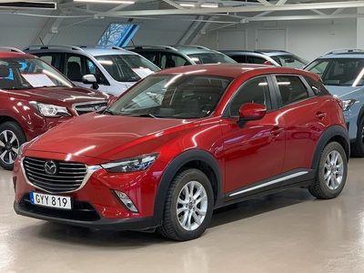 begagnad Mazda CX-3 2.0 SKYACTIV-G AWD AUT Euro 6 150hk