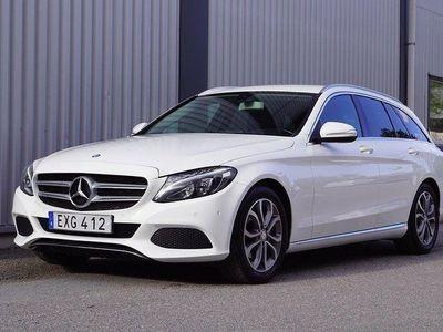 begagnad Mercedes C220 T 7G AUT EU6 170HK DRAG SV
