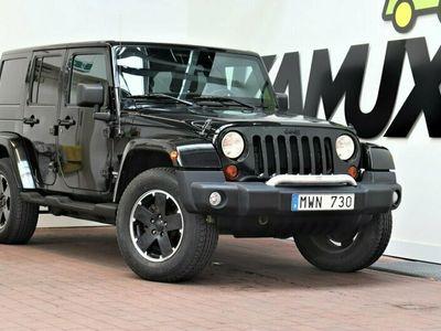 begagnad Jeep Wrangler Unlimited 3.6 V6 4WD Black ED Navi Skinn 290hk