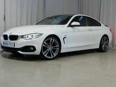 begagnad BMW 420 d 184hk Coupé Sport line Euro6, Drag, M-Ratt, Harman