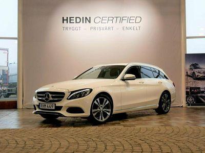 begagnad Mercedes C200 - BenzKOMBI AUT / AVANDTGARDE / DRAG / VINTERHJUL