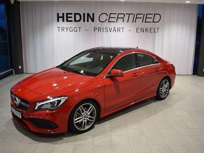 begagnad Mercedes CLA220 4MATIC // APPLE CARPLAY //PANO //AMG LINE