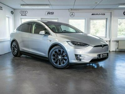 begagnad Tesla Model X 75D AWD 6-SITS AVBETALNING FRÅN 3500KR