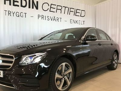begagnad Mercedes E300 300 DE SEDAN DEMO DRAG AMG PREMIUMPAKET