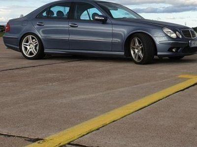 begagnad Mercedes E55 AMG