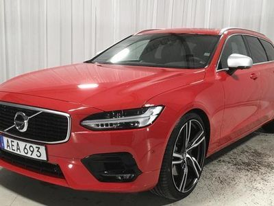 begagnad Volvo V90 T6 AWD 2018, Kombi 375 590 kr - 481 390 kr