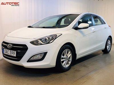 begagnad Hyundai i30 5-dörrar 1.6 CRDi 110hk Nybilsgar -16