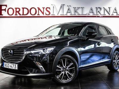 begagnad Mazda CX-3 2.0 SKYACTIV-G AWD AUT NAVI KAMERA FRI HEMLEVERANS