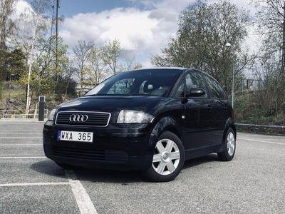 begagnad Audi A2 Panoramatak - Få ägare & Låga mil