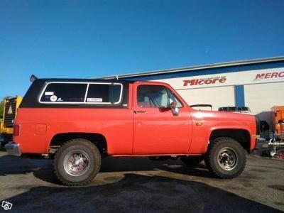 begagnad Chevrolet Blazer till salu 5,7, skatt- 0 -89